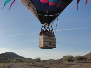 AZ Balloon Tours-hot air balloon components