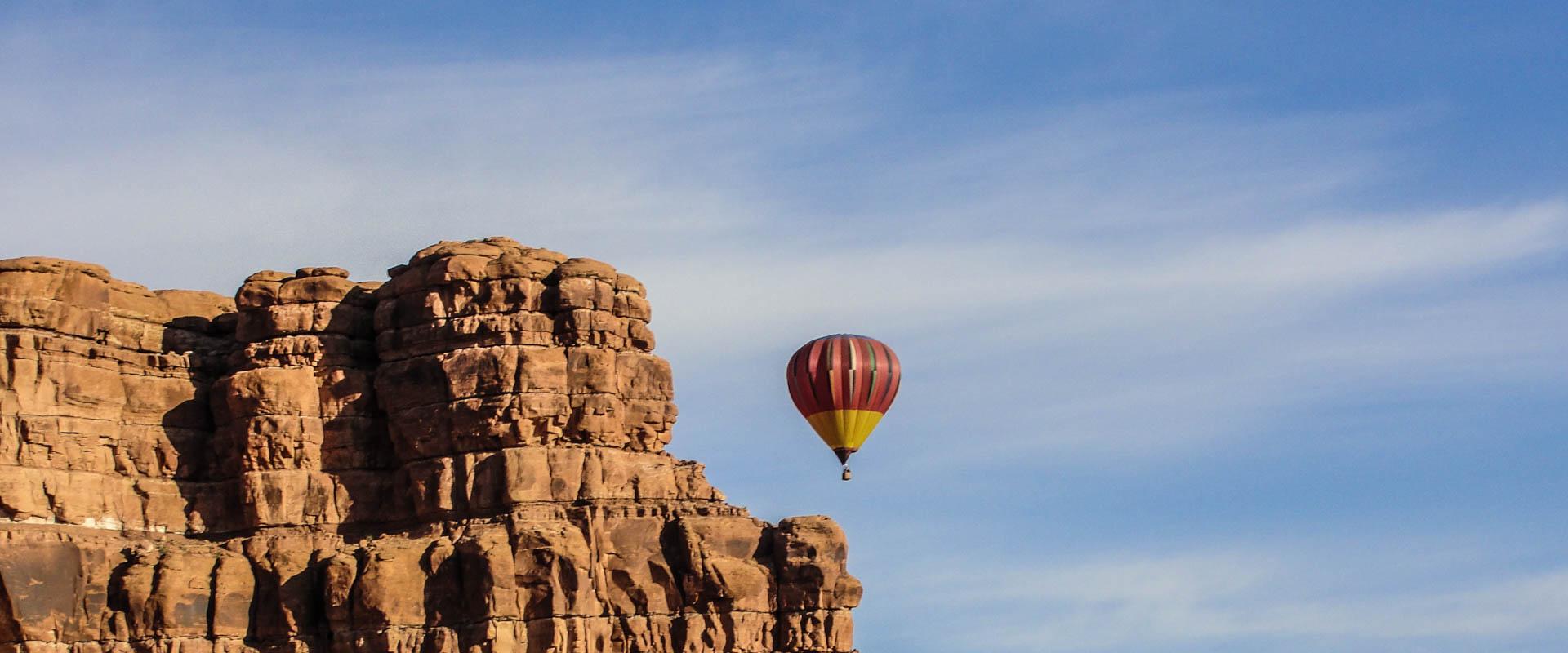 Monument Valley Arizona Hot Air Ballon Trip