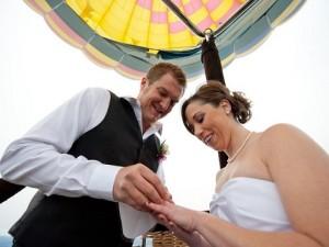 Phoenix AZ Balloon Ride Wedding