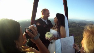 Scottsdale AZ Balloon Ride weddings