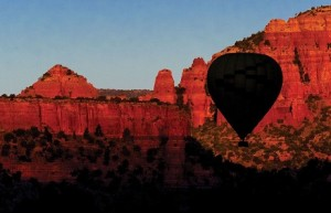 Sedona, Arizona Hot Air Balloon rides