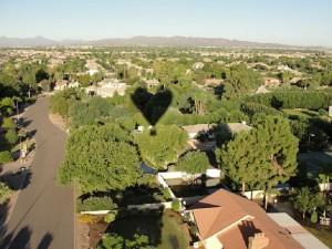 Valentine Day Balloon Ride