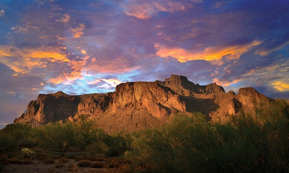 Apache Junction Arizona Balloon Ride