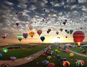 Hot air balloon festival Phx balloon Ride